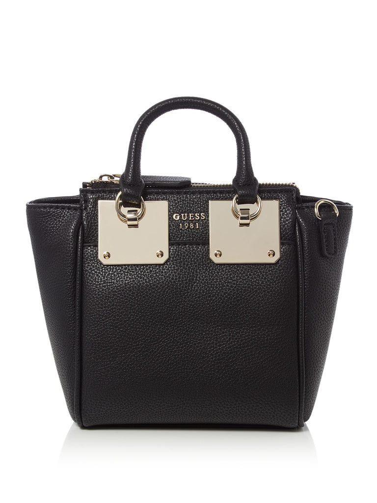 Guess Luma Mini Tote Bag- Black