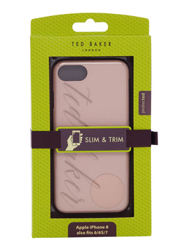 Ted Baker Tharese bow iphone clip case- Light Pink