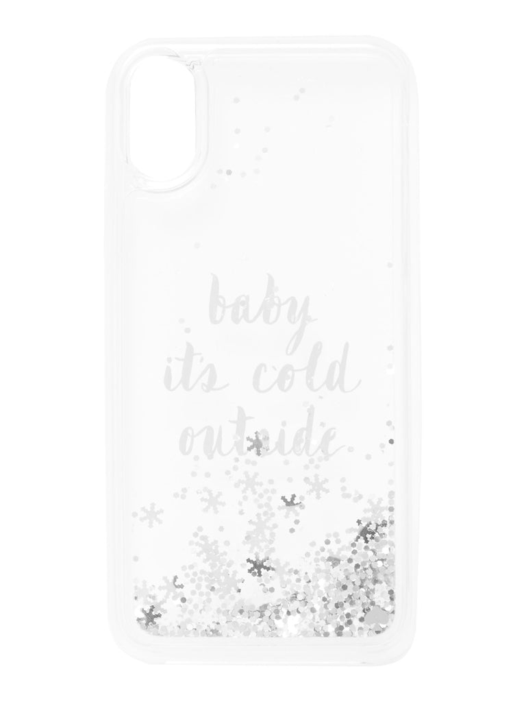 Kate Spade New York Baby Its Cold Outside iPhone 8 Cover- Multi-Coloured