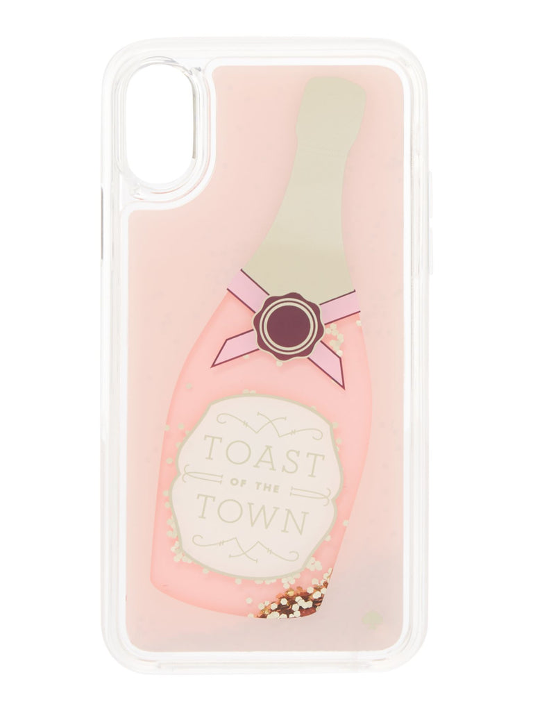 Kate Spade New York Champange Glitter iPhone 8 Cover- Multi-Coloured