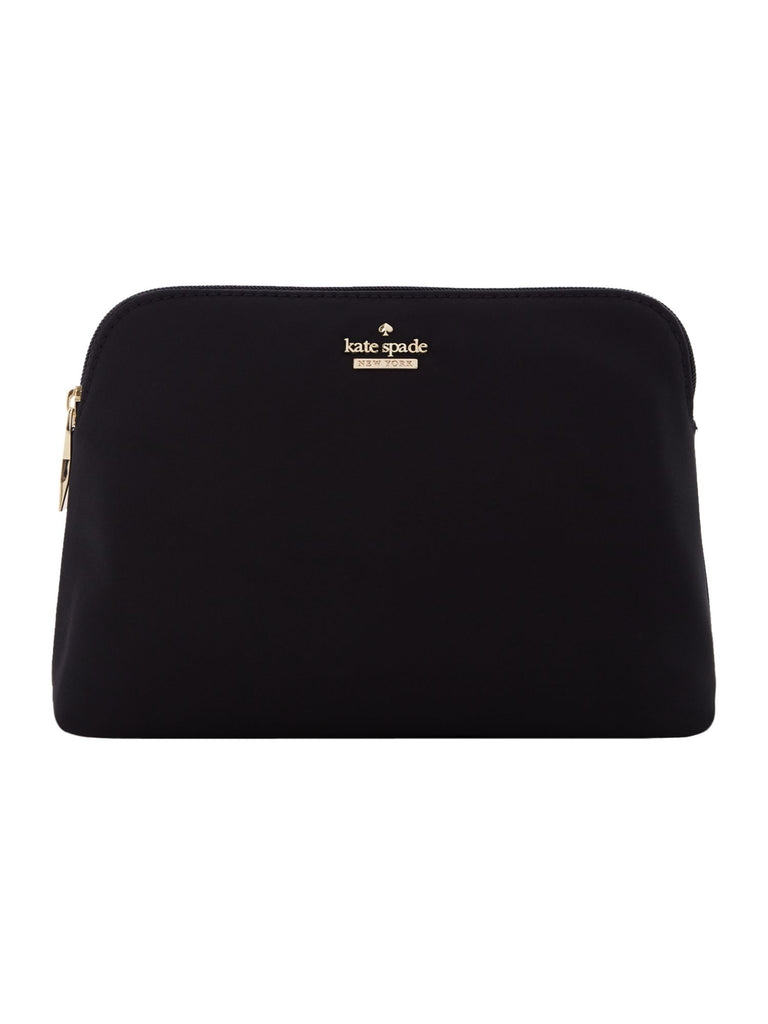 Kate Spade New York Classic nylon small briley dome cosmetic bag- Black