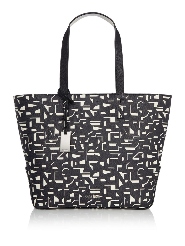 Calvin Klein Novelty Edit Medium Shopper Bag- Multi-Coloured
