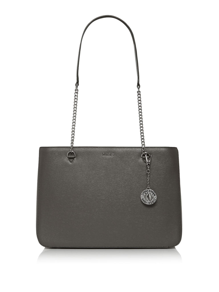 DKNY Sutton Chain Shopper- Grey