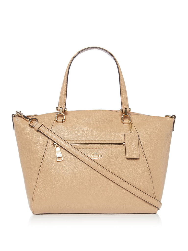 Coach Prairie Satchel Bag- Cream