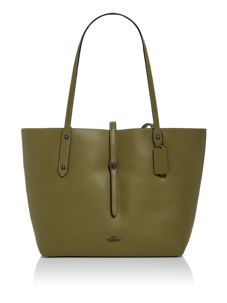 Coach Market Tote Bag- Green