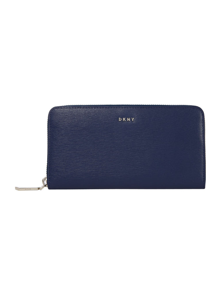 DKNY Sutton large zip around purse- Blue