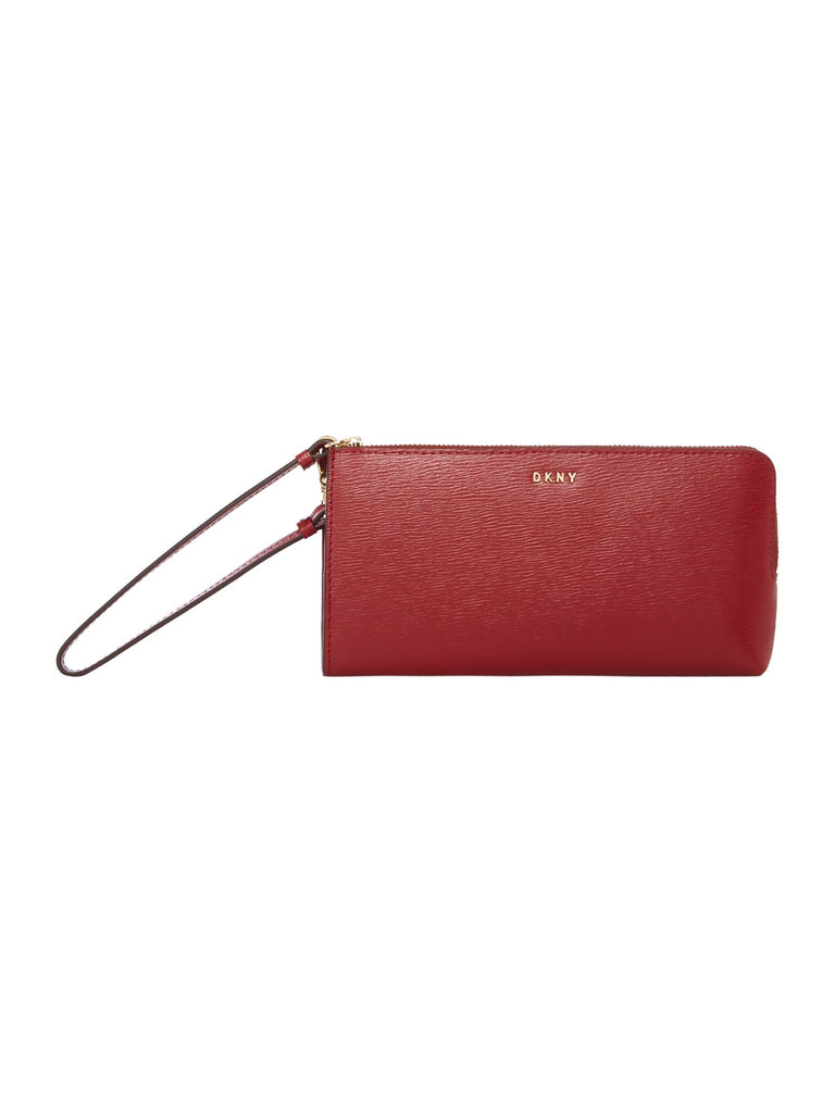 DKNY Sutton medium wristlet pouch- Red