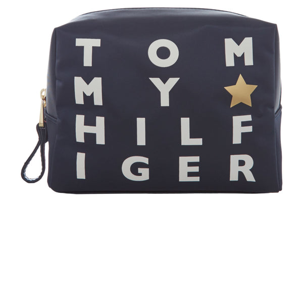 Tommy Hilfiger Novelty poppy logo makeup bag- Multi-Coloured