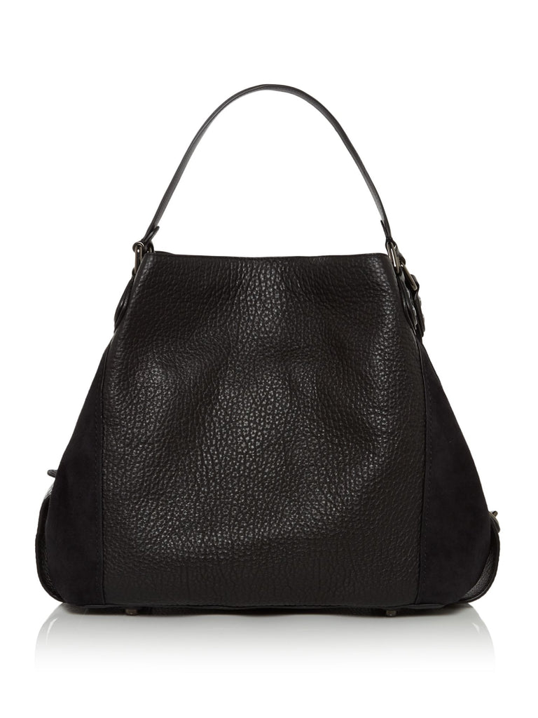 Coach Edie 42 Large Hobo Bag- Black