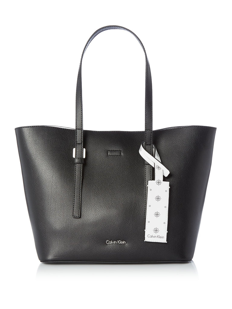 Calvin Klein Ck zone medium shopper tote bag- Black