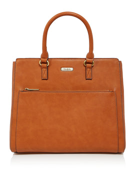 Ollie & Nic Pasty Work Tote- Tan