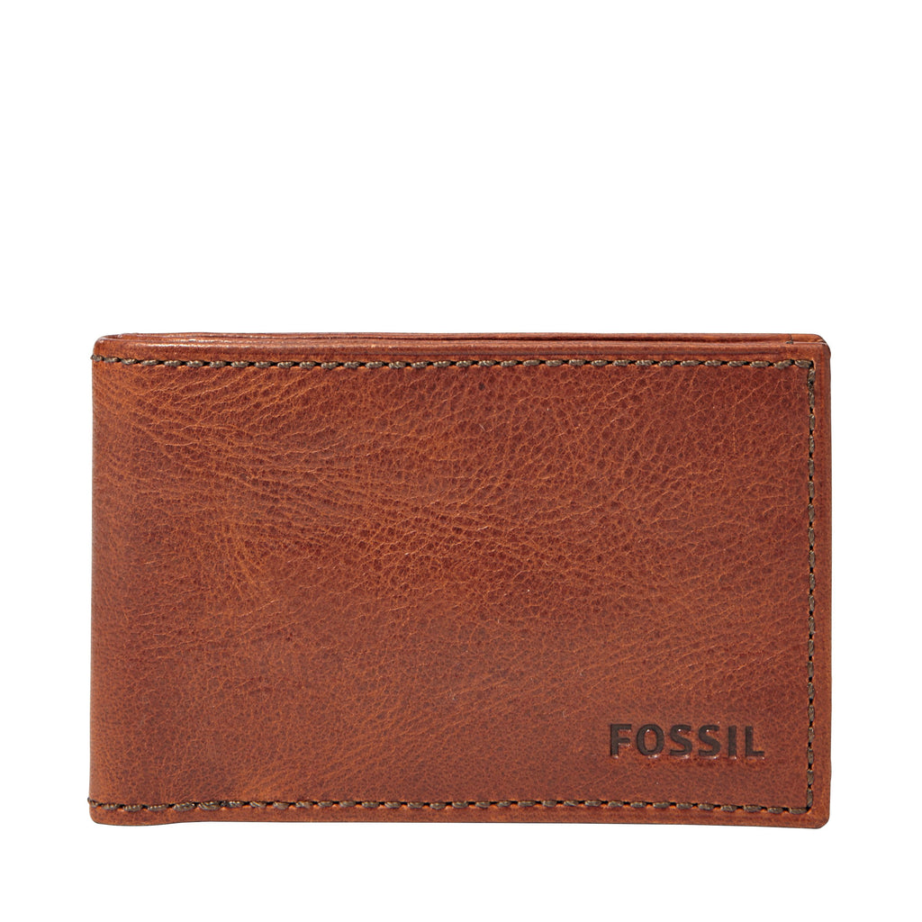 Fossil ML3418222 mens wallet- Brown