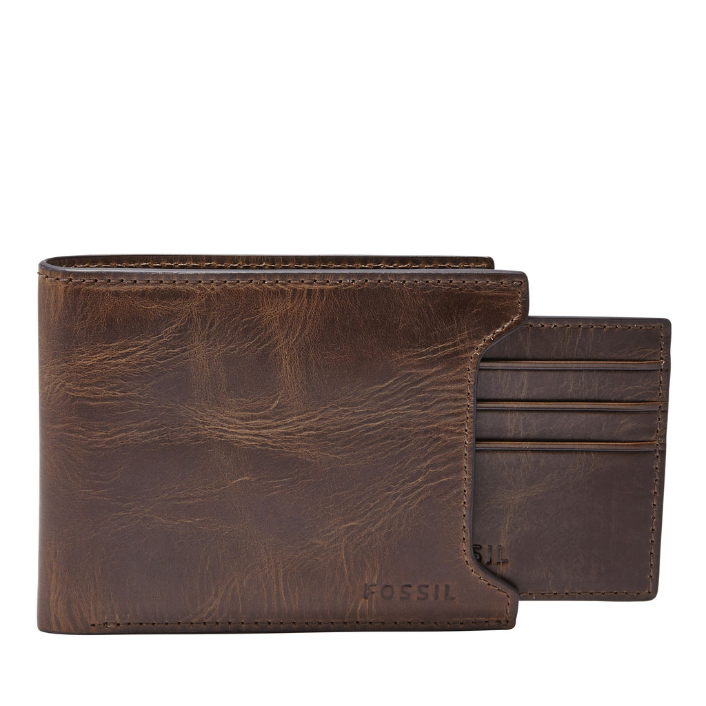 Fossil ML3685201 mens wallet- Brown