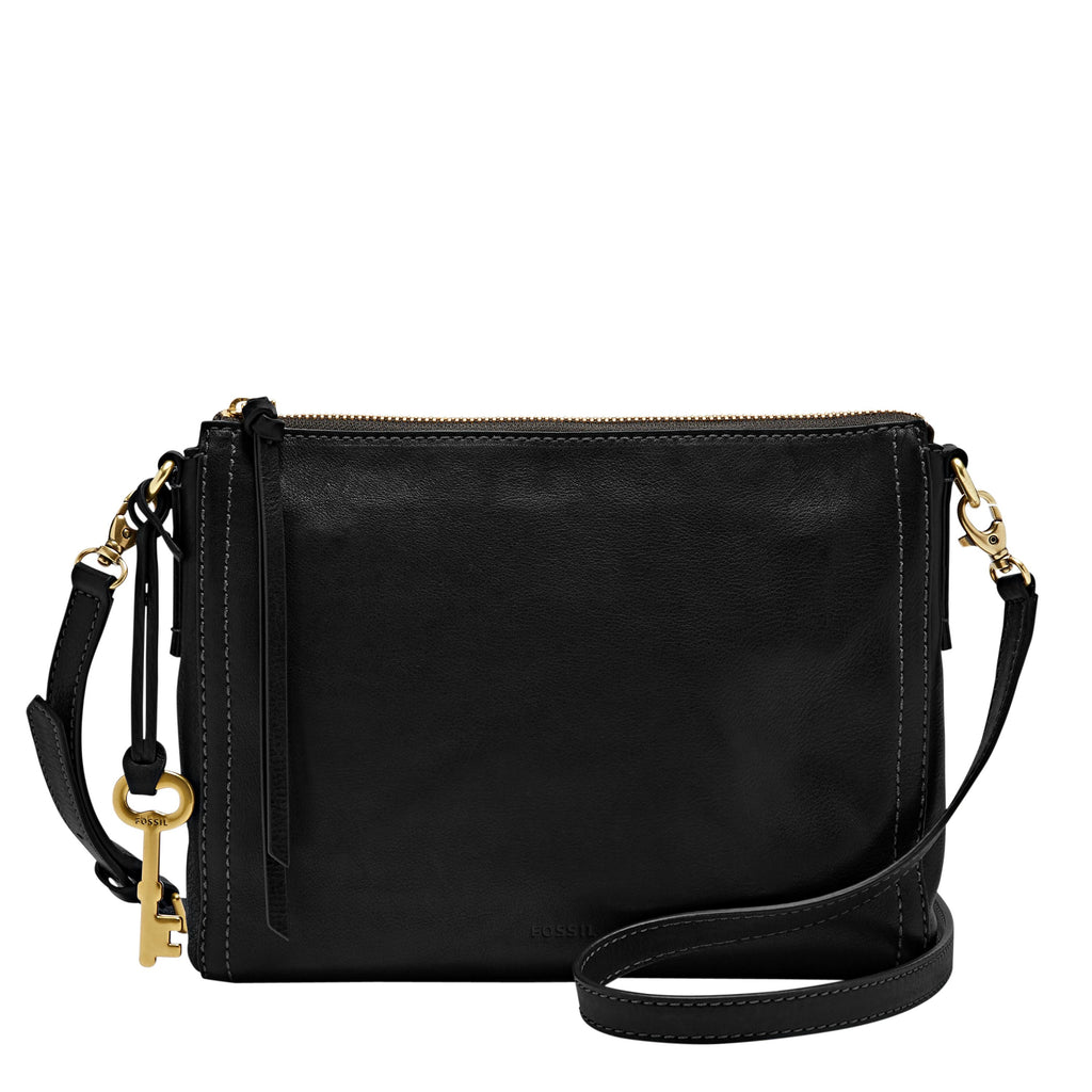 Fossil ZB6842001 emma crossbody bag- Black