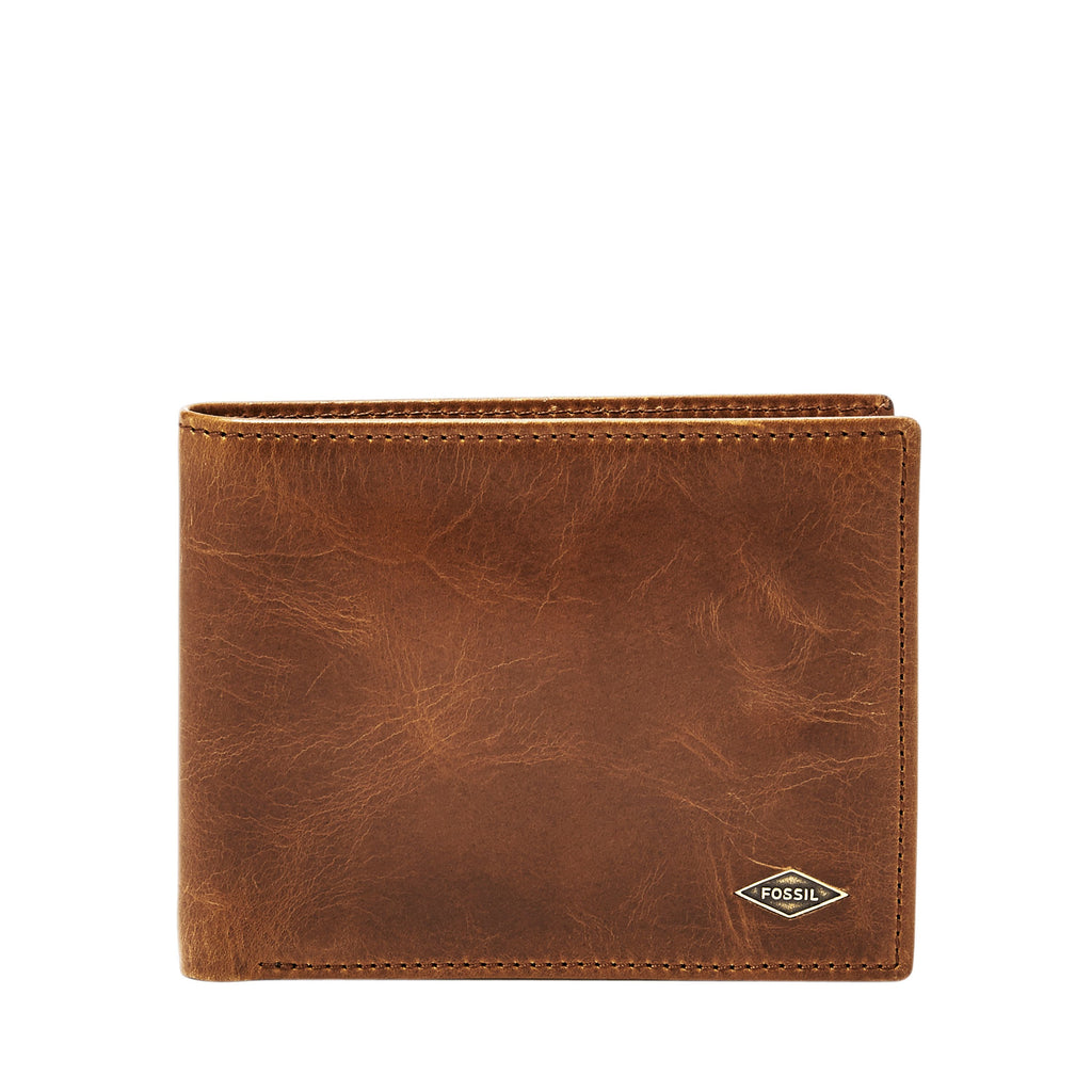 Fossil ML3830201 Mens wallet- Brown