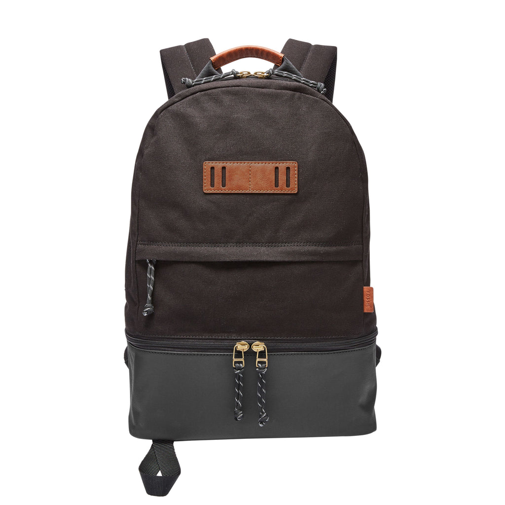Fossil Summit Dome Backpack- Black