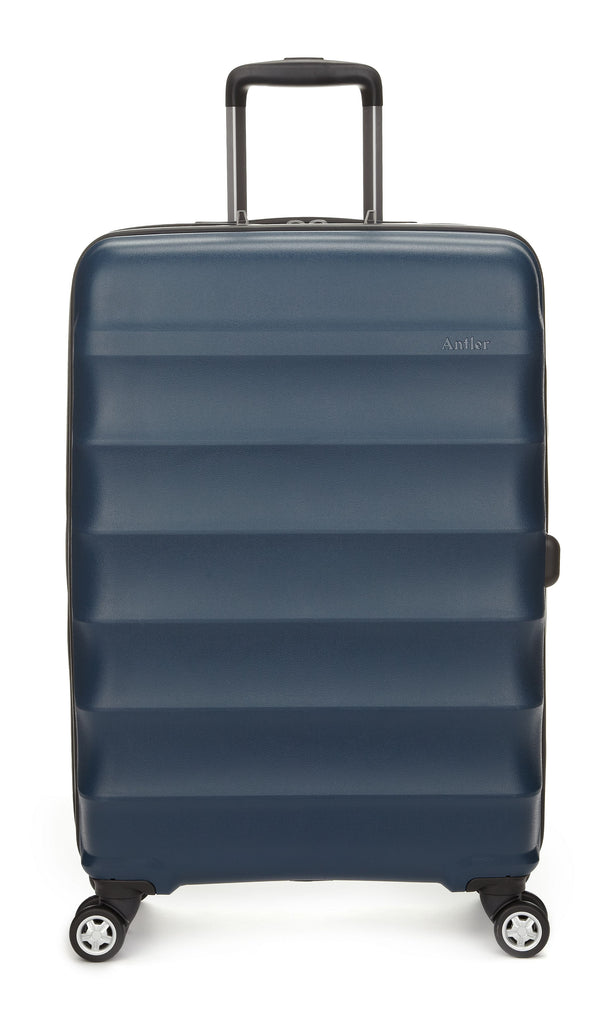 Antler Juno Medium 68cm Navy Suitcase- Blue