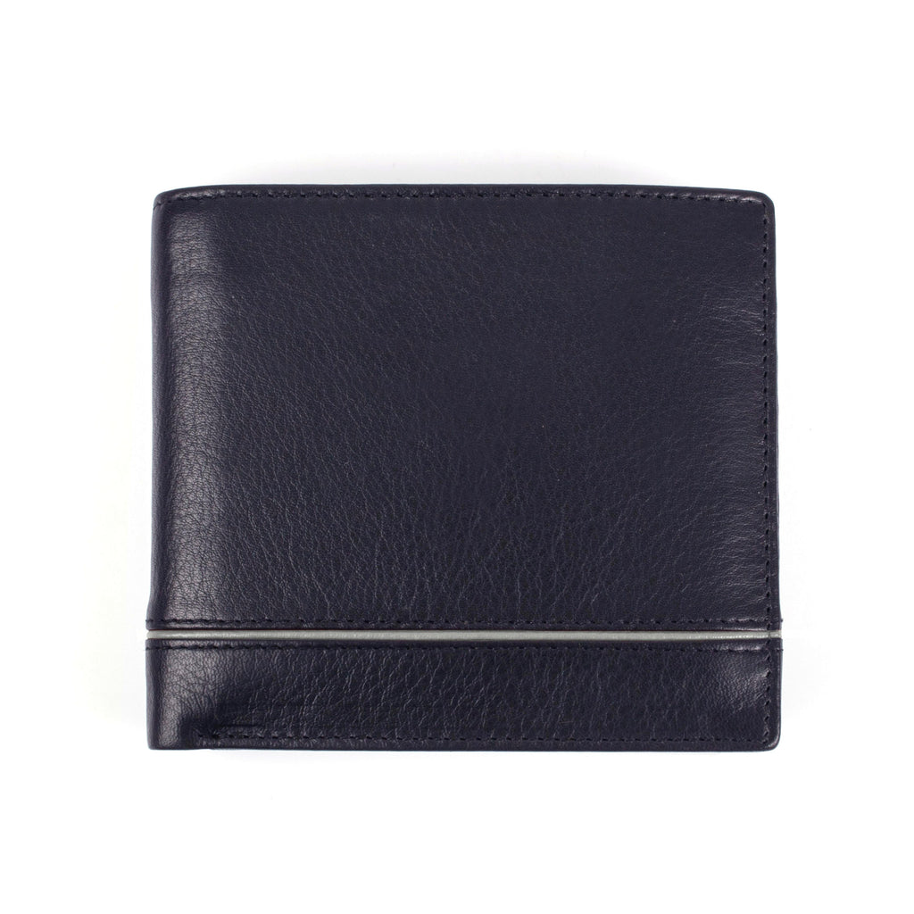 Dents Mens RFID wallet removable pass holder- Black