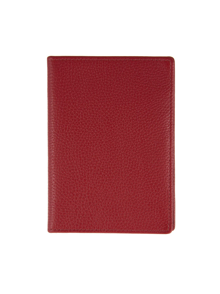 Dents Mens Rfit Protected Passport Holder- Berry