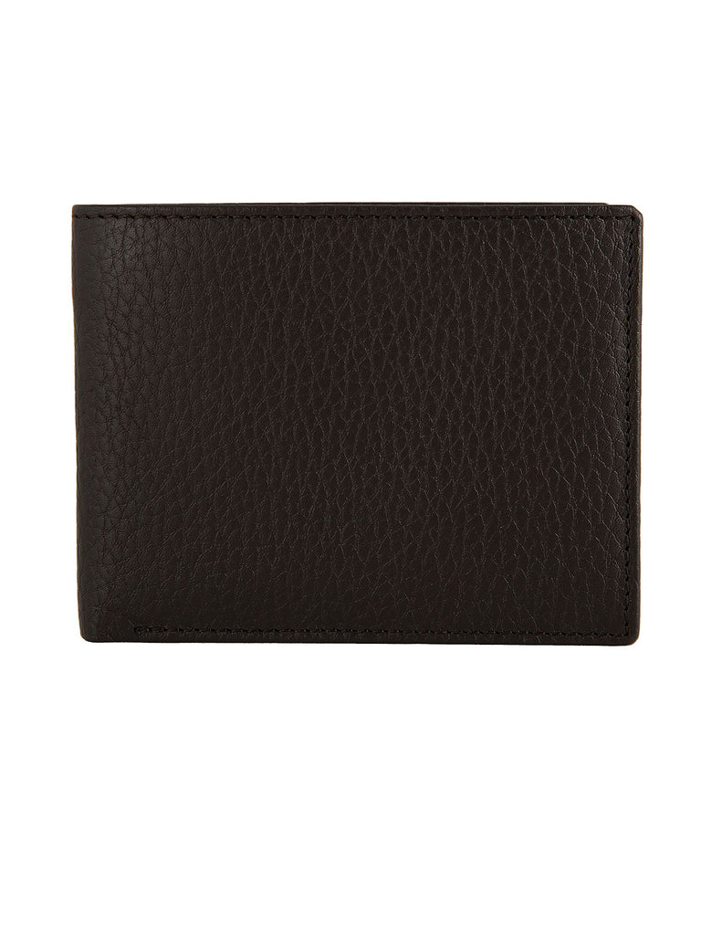 Dents Mens Rfid Protected Billfold Wallet- Brown