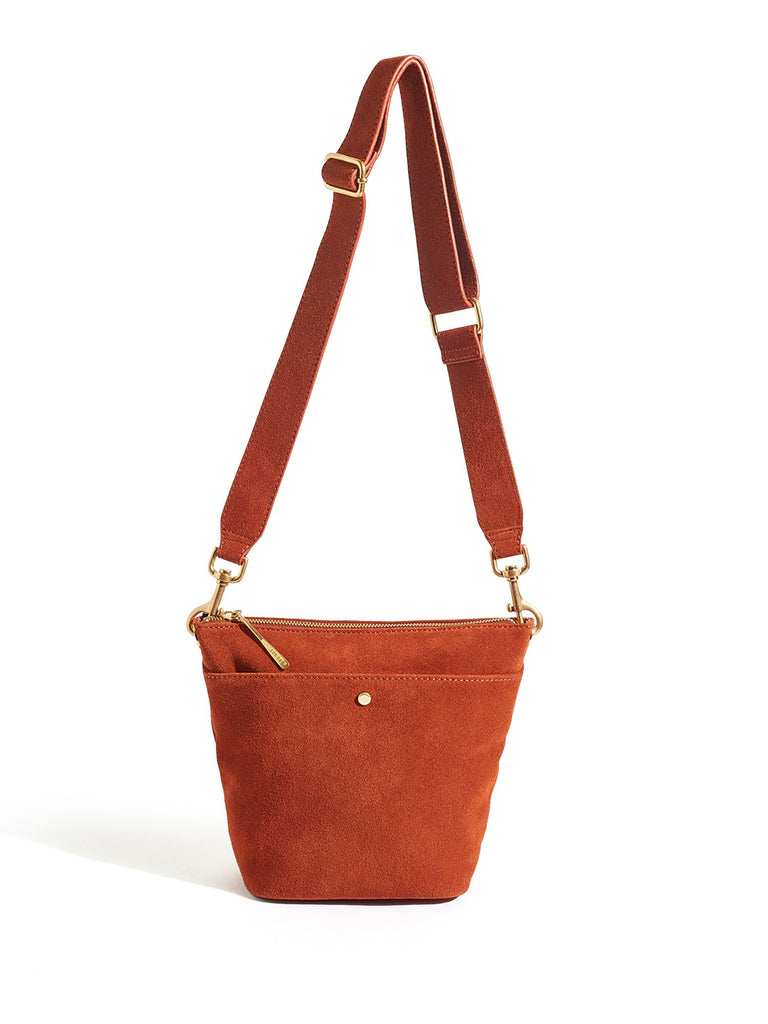 Jigsaw Mini Cameron Hobo- Terracotta