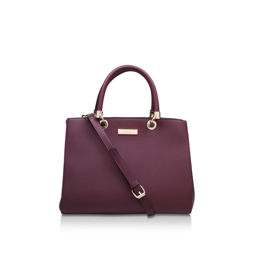 Carvela Darla2 tote bag- Wine