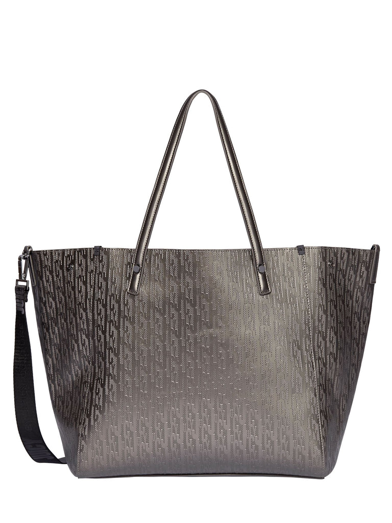 Juicy by Juicy Couture Arlington Soft Tote Handbag- Dark Grey