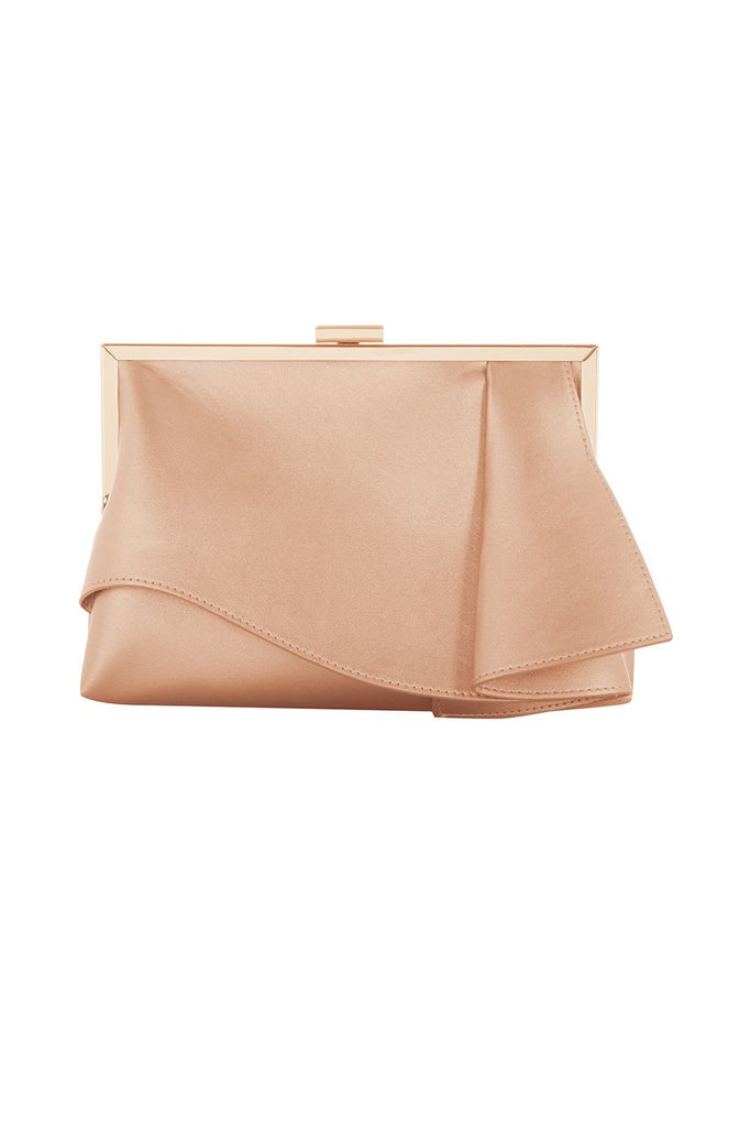 Coast Rae Ruffle Bag- Rose Gold