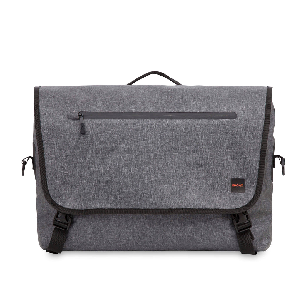 Knomo Rupert 14 Laptop Messenger Bag- Grey