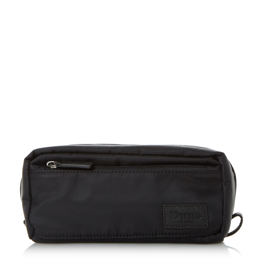 Dune Nairobi Nylon Washbag- Black