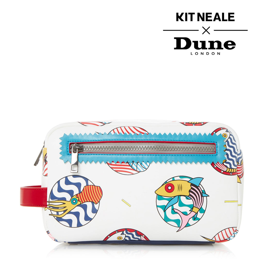 Dune Kit Neale Gamma Multi Washbag- White