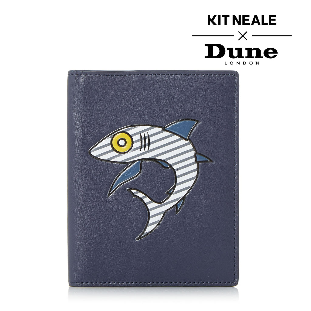 Dune Kit Neale Koi Passport Holdall- Blue