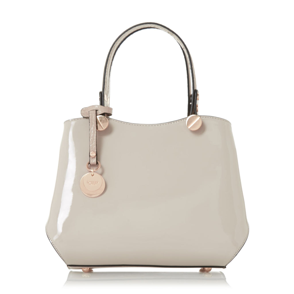 Dune Dinidimogen Small Inverted Gusset Bag- Taupe