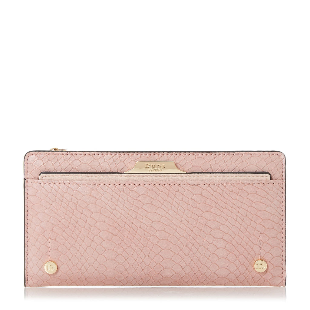 Dune Kerrie Purse With Removable Card Holder- Nude