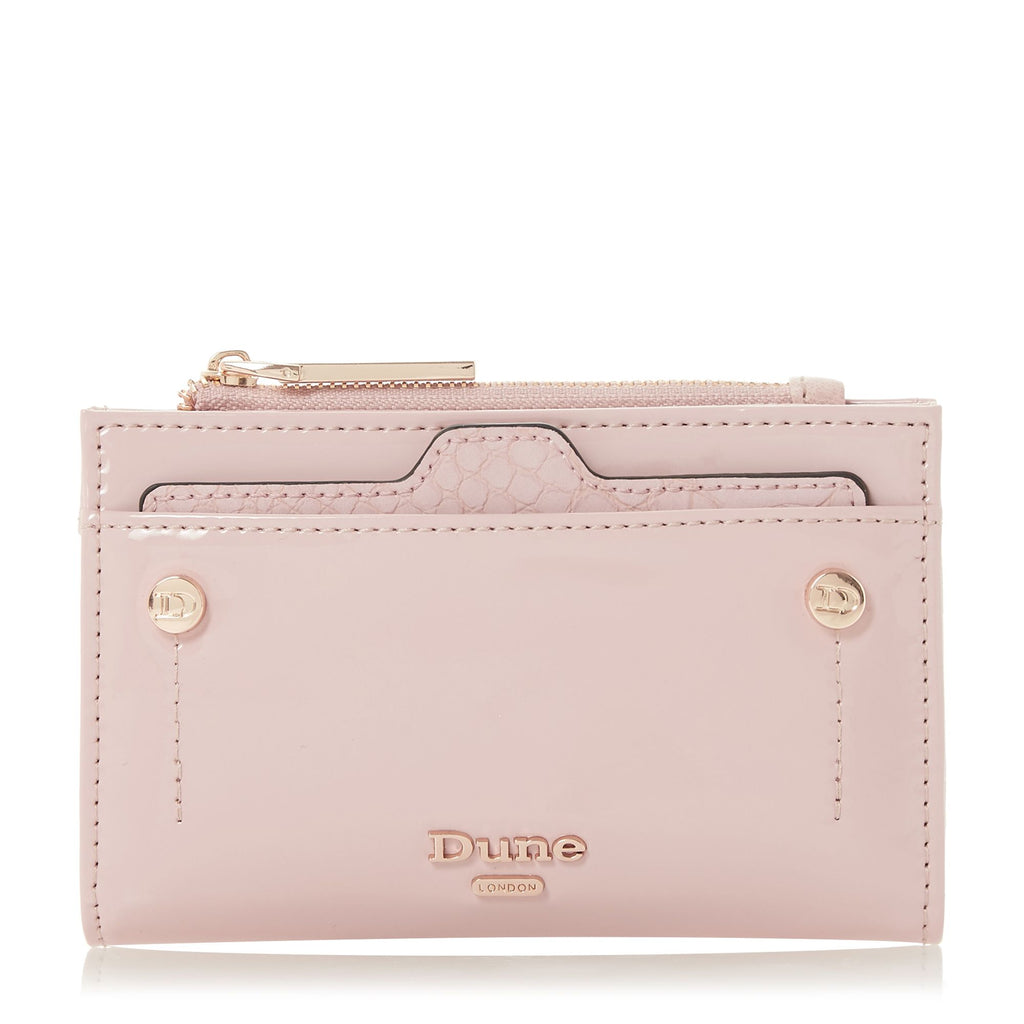 Dune Kimogen Purse With Removable Card Holder- Nude