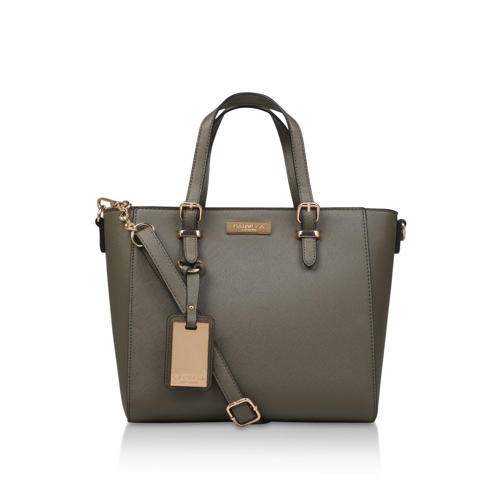 Carvela Danna2 Winged Tote Tote Bags- Green