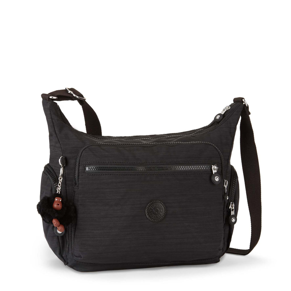 Kipling Gabbie large crossbody shoulder bag- Black