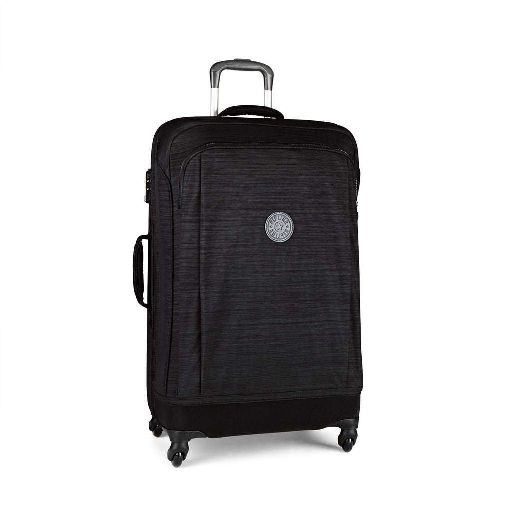 Kipling Super Hybrid M Medium Spinner- Black