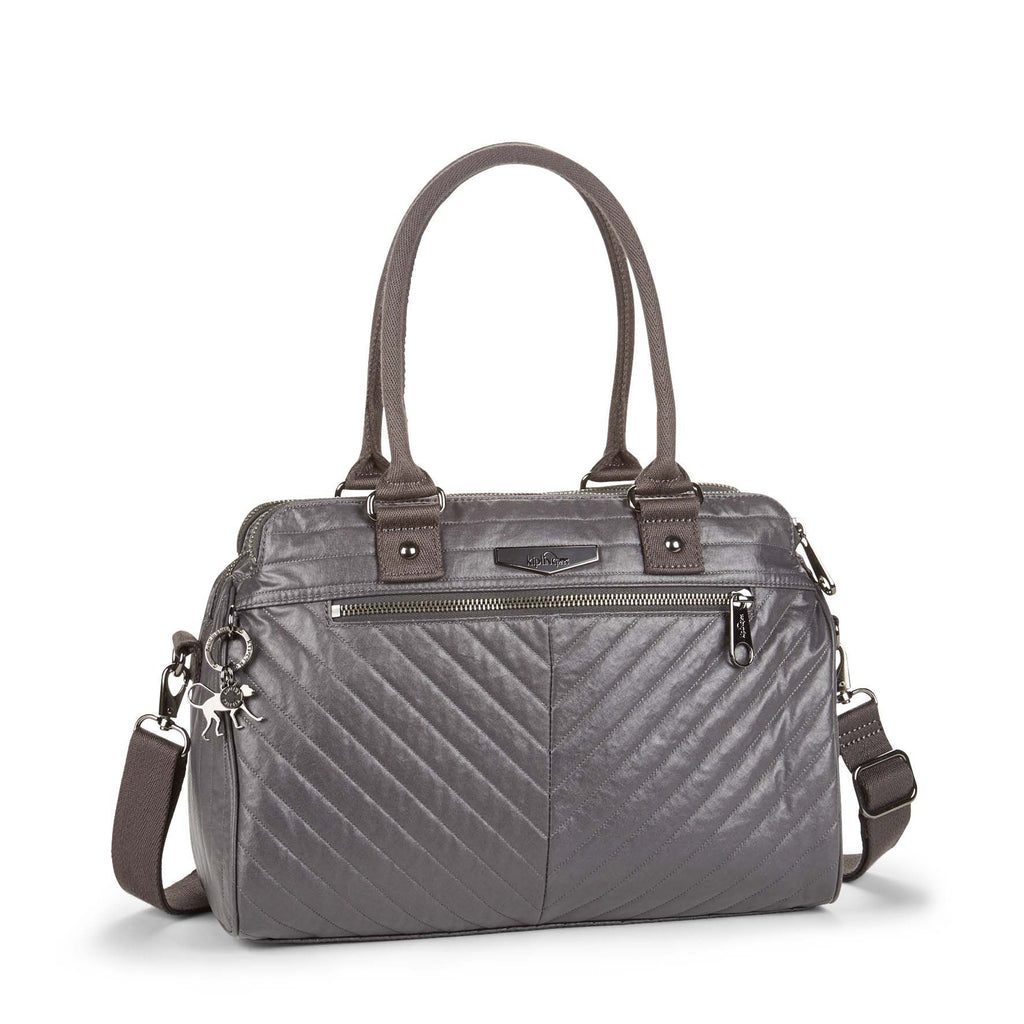 Kipling Sunbeam Handbag- Grey