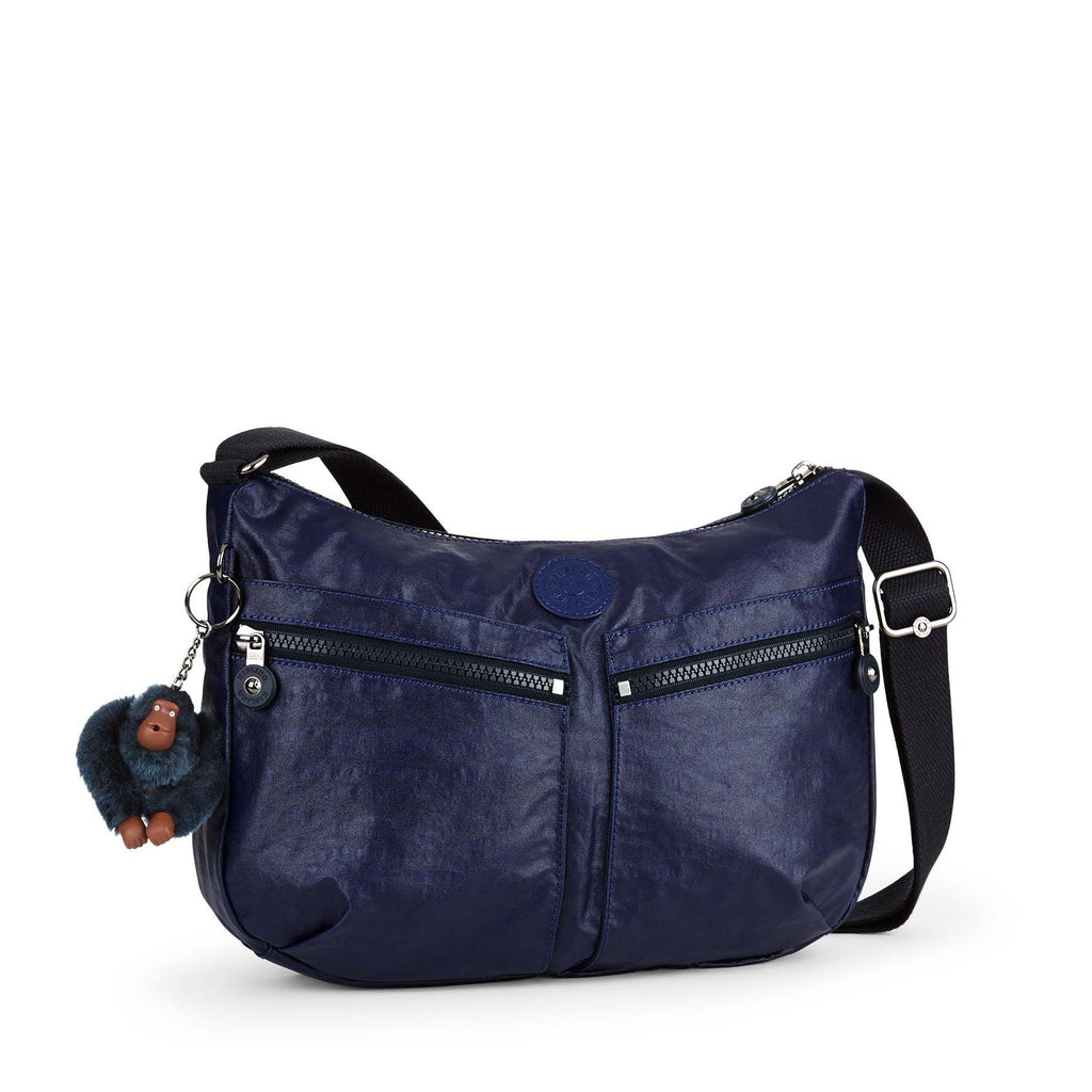 Kipling Izellah medium shoulder bag- Indigo