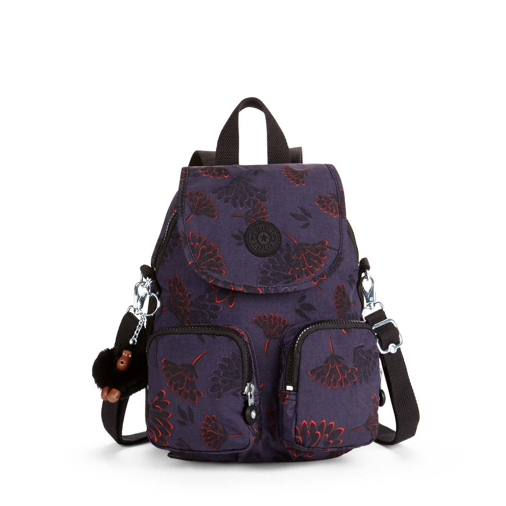 Kipling Firefly Up Small Backpack- Multi-Coloured