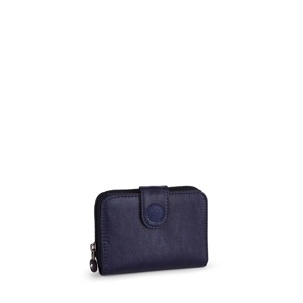 Kipling New money medium wallet- Indigo