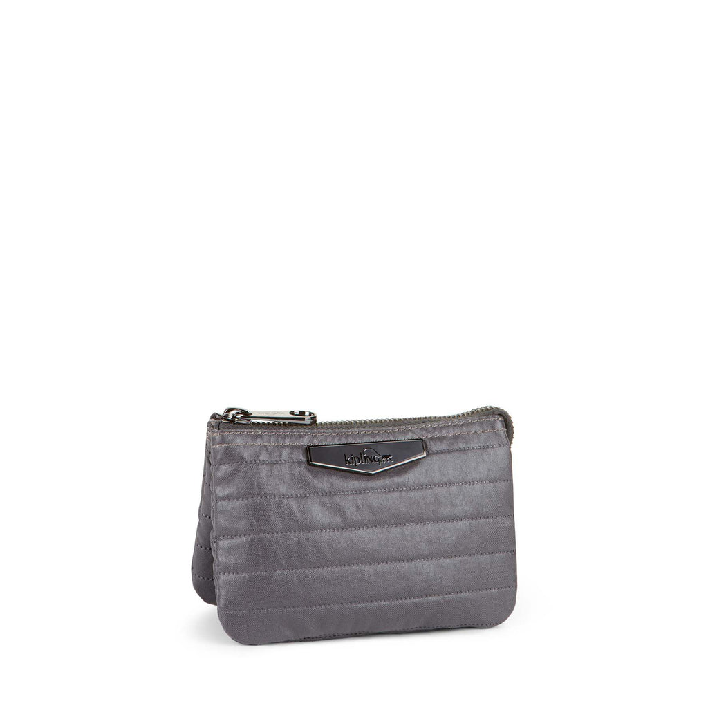 Kipling Creativity Twist Small Purse- Grey