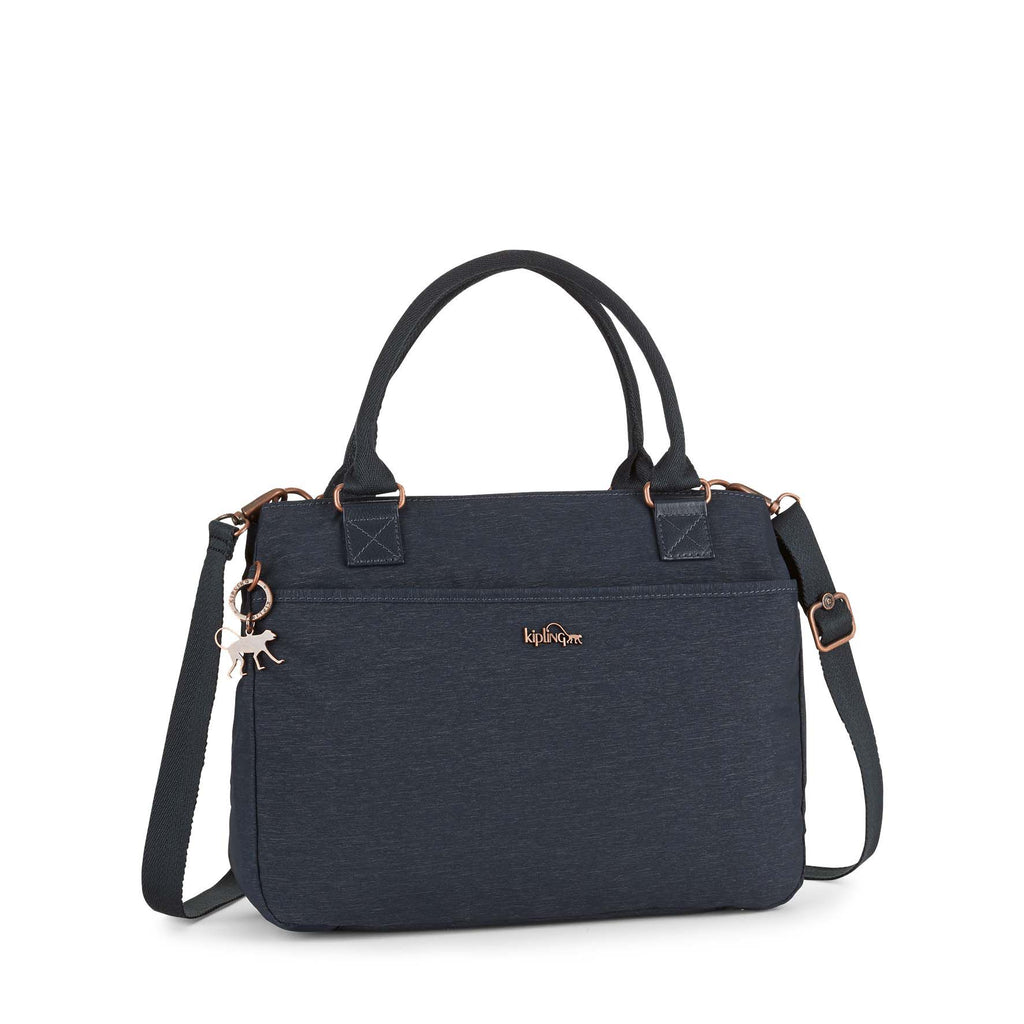 Kipling Caralisa medium tote bag- Blue