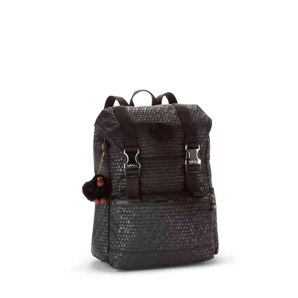 Kipling Experience small backpack- Black Croc