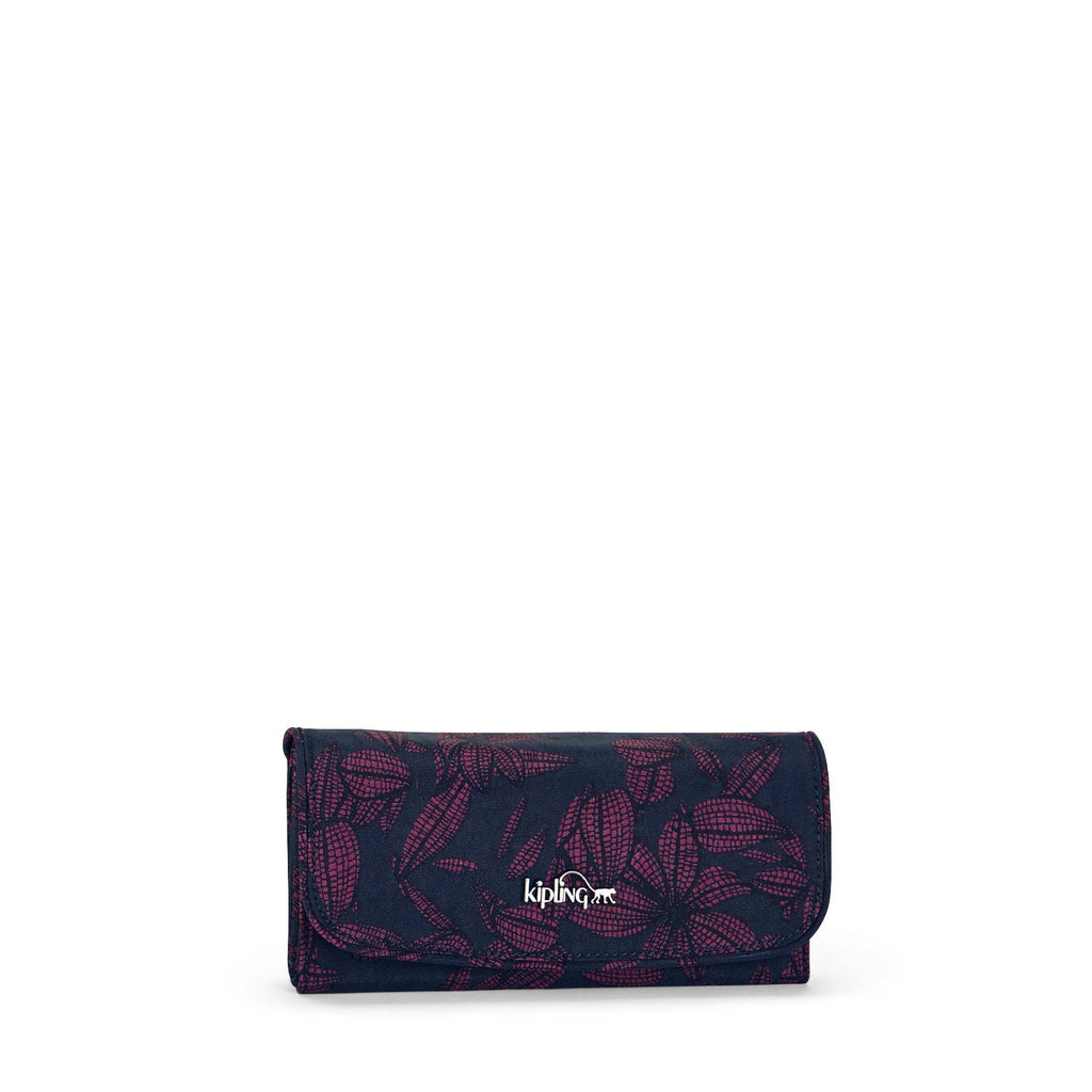 Kipling Supermoney large wallet- Orchid