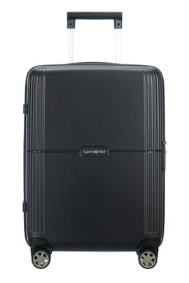Samsonite Orfeo Black 55cm Small Cabin Spinner- Black
