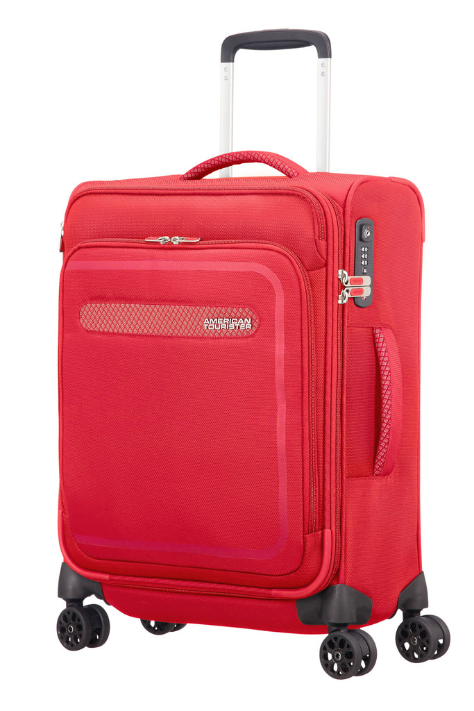 American Tourister Airbeat 55cm Cabin Red- Red