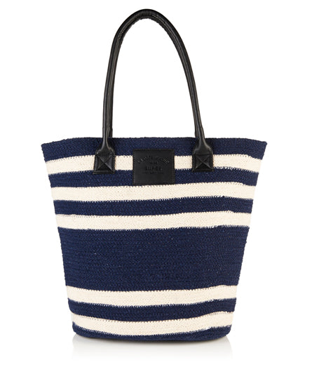 Superdry Striped Beach Tote Bag