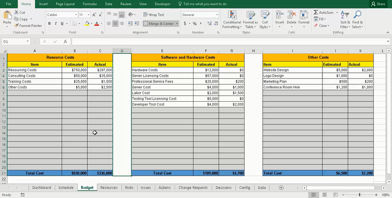 Project Tracking with Master Excel Project Manager
